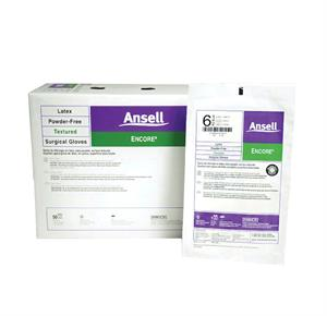 Ansell Encore Latex Textured Surgical Gloves