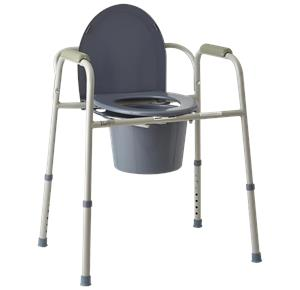 Commode Chair | Bedside Commode for Elderly and Disabled