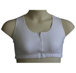 LuisaLuisa Front Zipper Mastectomy Bra
