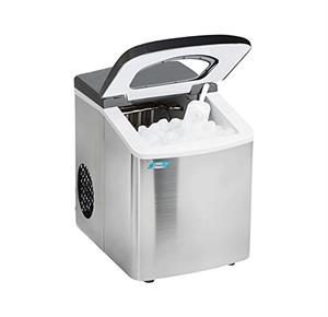 Maxi Matic Mr. Freeze Stainless Steel Portable Ice Maker