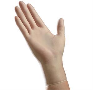 Ambitex Powder Free Clear Disposable Vinyl Gloves