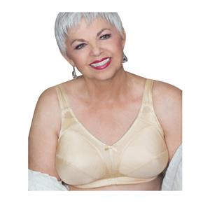 Classique 507 Oval Post Lumpectomy Silicone Breast Form-Beige-8