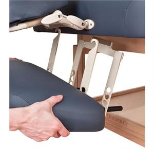 oakworks lowered arm rest shelf bracket