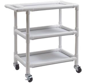Graham-Field PVC Three Shelf Utility Cart