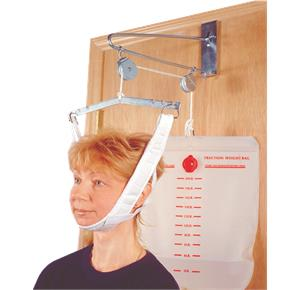 Drive Over Door Cervical Traction Set