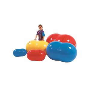 CanDo PhysioGymnic Inflatable Exercise Rolls