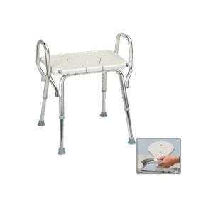 eagle health shower chair with arms and replaceable cut out seat