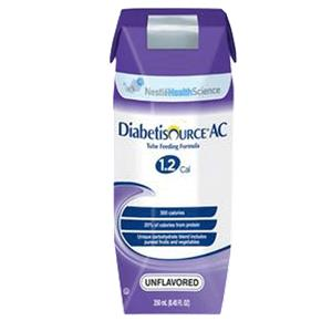 Nestle Diabetisource Advanced-Control Complete Nutrition With SpikeRight Port