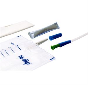 Medicath Hi-Slip Full Plus Male Hydrophilic Urinary Catheter With Insertion Supplies