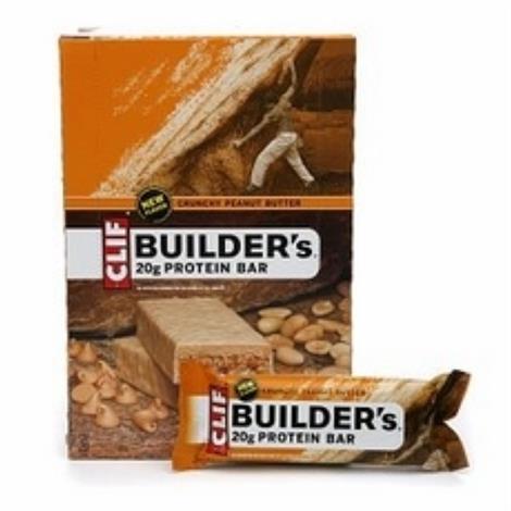 Clif Crunchy Peanut Butter Builders Bar