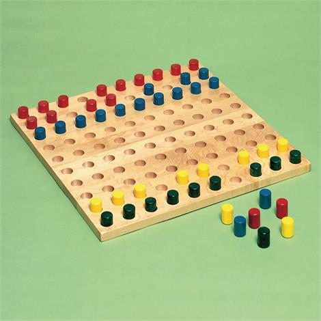 Buy Sammons Preston Pegboard with Colored Pegs
