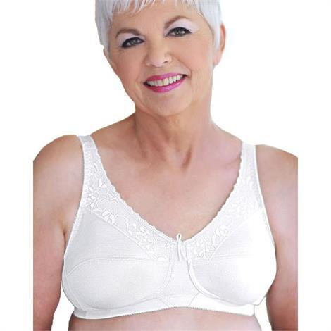Buy ABC Lace Trim Soft Cup Mastectomy Bra Style 120