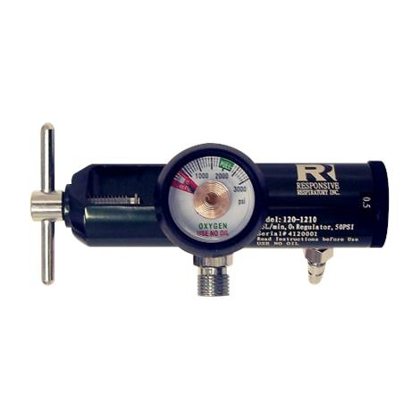 Responsive Respiratory EMS Oxygen Regulator - 25 LPM CGA 870