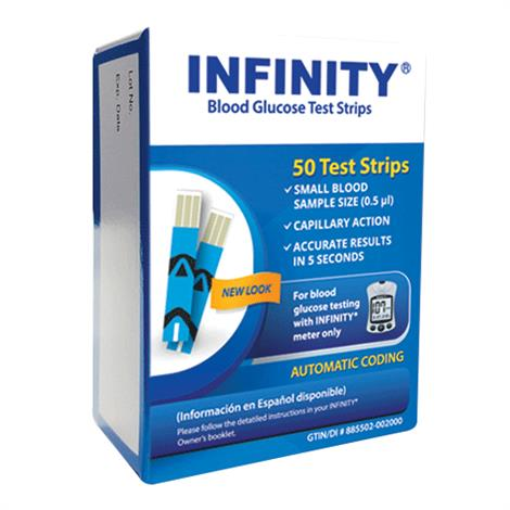 INFINITY Blood Glucose Test Strips