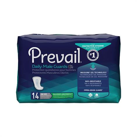 Prevail Male Guards - Maximum Absorbency