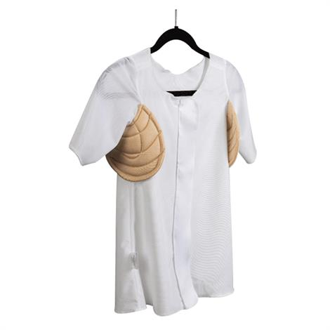 Wear Ease Andrea Compression Shirt With Both Sides Axilla Pads
