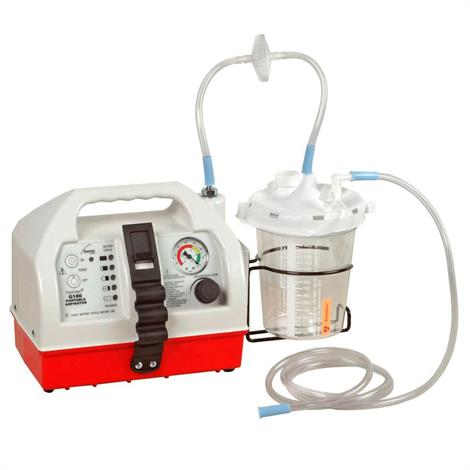 Allied OptiVac AC Or DC Portable Suction Unit with Gauge and Regulator