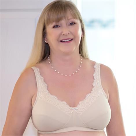 Buy ABC Lace Front Mastectomy Bra Style 101