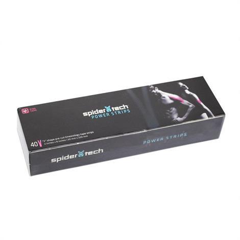 SpiderTech Power Strips Y Shape Pre-Cut Kinesiology Tape Strips