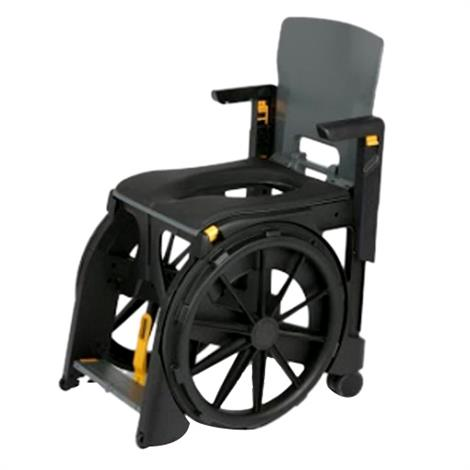 Clarke Wheelable Folding Commode And Shower Chair Shower