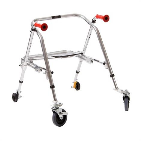 Buy Kaye PostureRest Two Wheel Walker With Seat For Youth