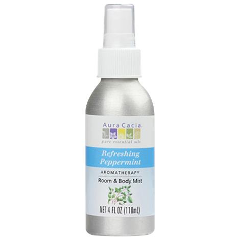 Aura Cacia Peppermint Aromatherapy Mist 4