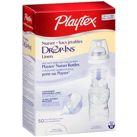Playtex Drop-Ins Premium Nurser Baby Bottle