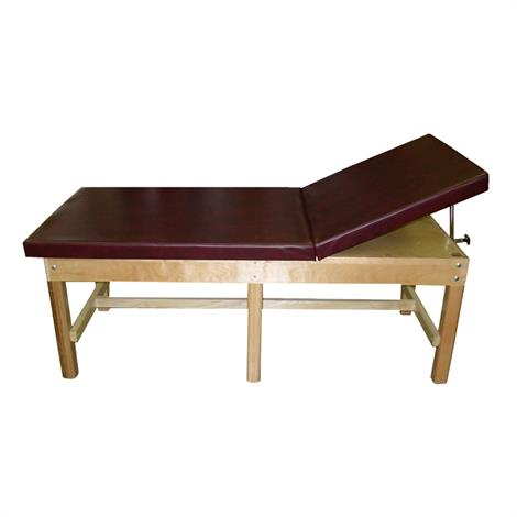 Bailey Adjustable Back Bariatric Treatment Table with H- Brace