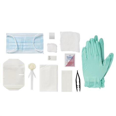 Medline Latex Free Dressing Change Tray with Chloraprep - DYND75226
