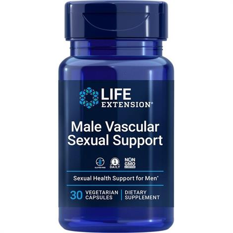 Buy Life Extension Male Vascular Sexual Support Capsules