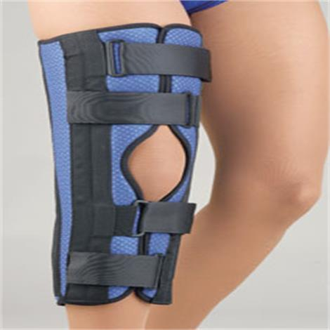 Buy FLA Orthopedics Breathable Universal Tri-Panel Foam Knee Immobilizer