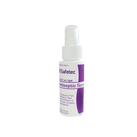 Safetec Cut And Scrape Antiseptic Spray