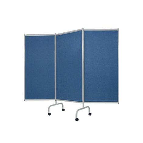 Winco Privess Elite Designer 3 Panel Steel Frame Privacy Screen