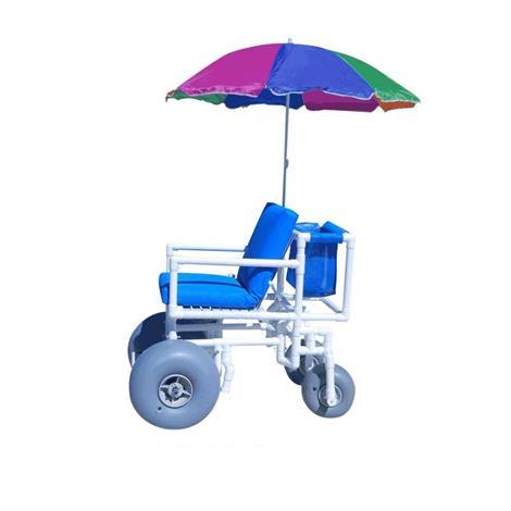 Aqua Creek  Beach Access Chair With Rear  Articulated Wheels