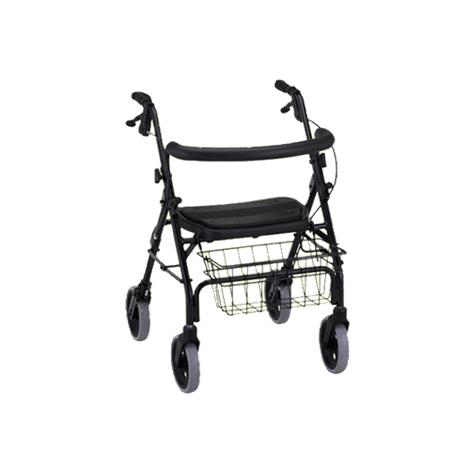 Nova Medical Cruiser Deluxe Four-Wheel Rolling Walker or Rollator