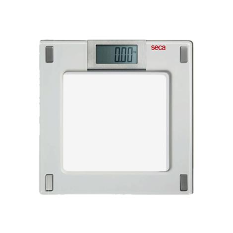 Seca Aura Digital Flat Scale with Glass Platform