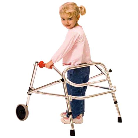 Kaye Wide Posture Control Two Wheel Walker For Adolescent