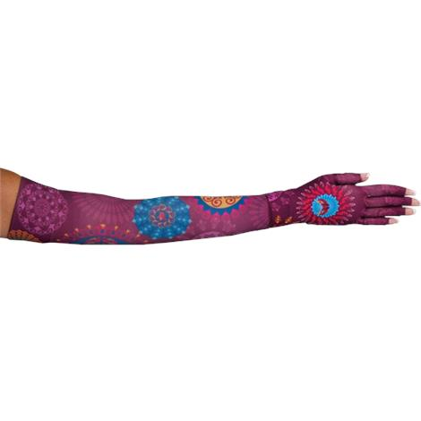 LympheDivas Warriors In Pink Compression Arm Sleeve And Glove