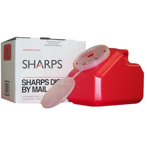 Sharps Disposable By Mail System