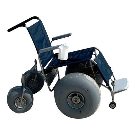 Beach De-Bug Stainless Steel All Terrain Wheelchair