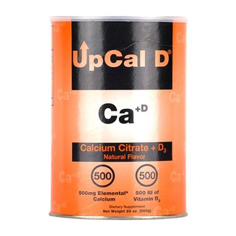 Global UpCal D Calcium Citrate Plus Vitamin D3 Powder