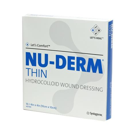 Buy Systagenix Nu-Derm Hydrocolloid Wound Dressing