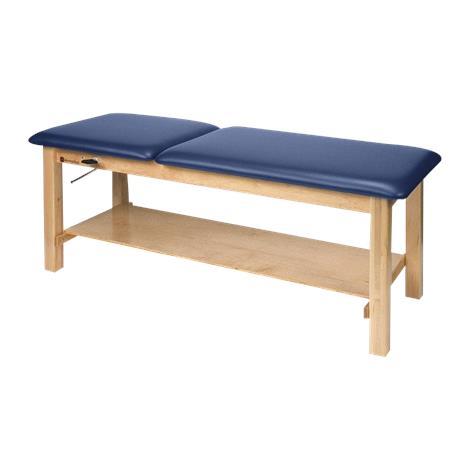 Armedica Maple Hardwood Treatment Table With Adjustable Backrest