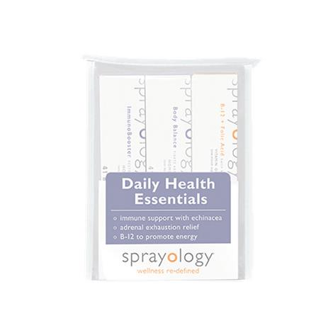 Sprayology Daily Health Essentials Homeopathic Spray Kit