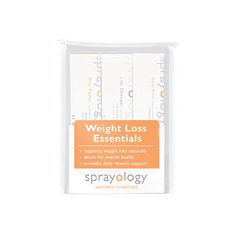 Sprayology Weight Loss Essentials Homeopathic Spray Kit