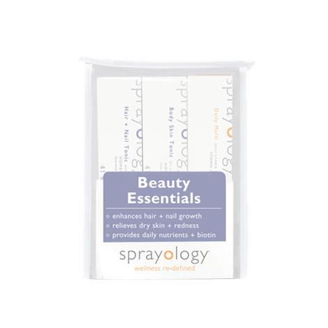 Sprayology Beauty Essentials Homeopathic Spray Kit