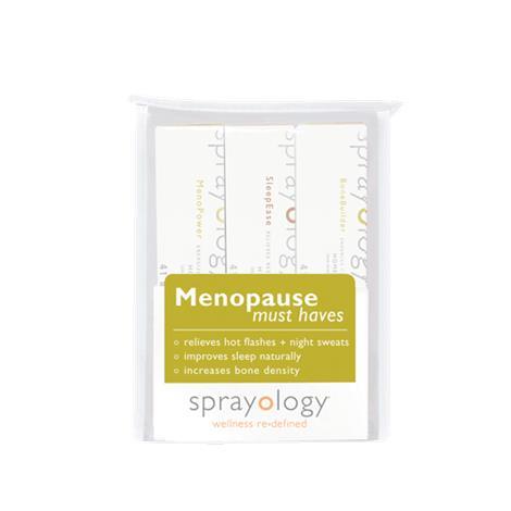 Sprayology MenoPause Must Haves Homeopathic Spray Kit