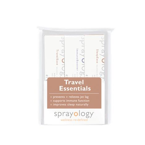 Sprayology Travel Essentials Homeopathic Spray Kit