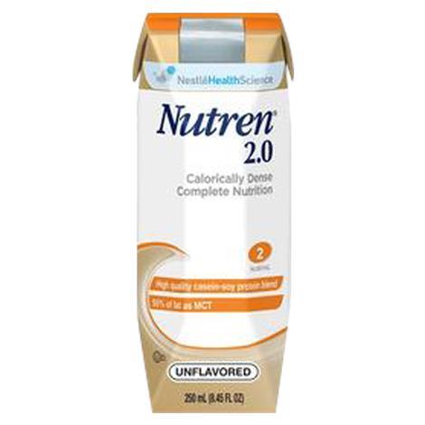 Nestle Nutren 2.0 Complete Calorically Dense Liquid Nutrition