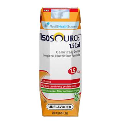 Nestle Isosource 1.5 Calorically Dense Complete Liquid Nutrition With SpikeRight Plus Port